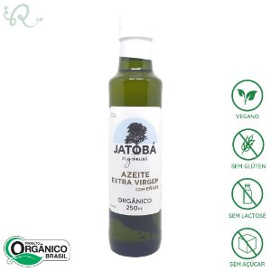 Azeite Orgânico com Ervas 250ml - Jatobá