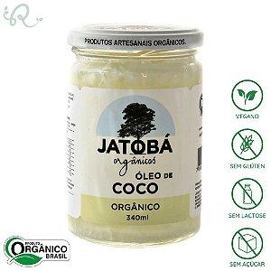 Óleo de Coco Orgânico 340ml - Jatobá