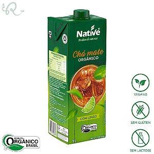 Chá Mate Orgânico de Limão 1L - Native