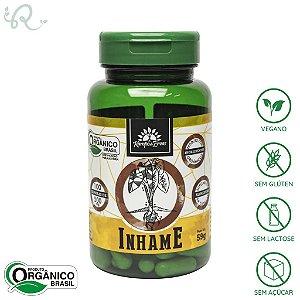 Cápsulas de Inhame Orgânico 100 caps de 500mg - Kampo de Ervas
