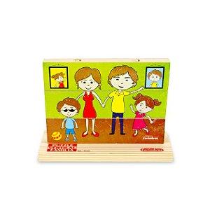 Puzzle vertical família