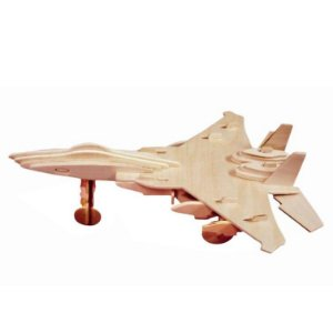 Quebra cabeça 3D Avião Caça