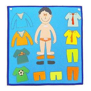 Painel roupa menino