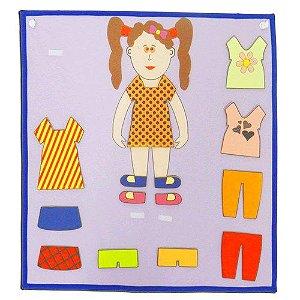 Painel roupa menina