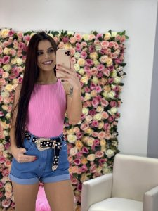 Short Jeans Mom Curto