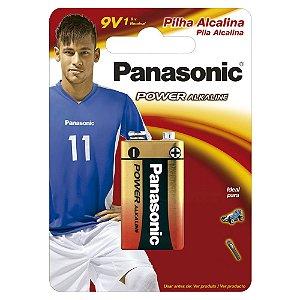 Pilha Alcalina 9V Panasonic