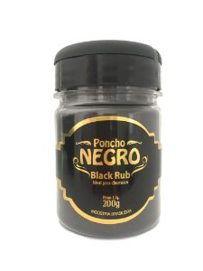 Black Rub Poncho Negro 200g