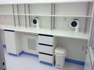 Mobiliário para Farmácia de Manipulação