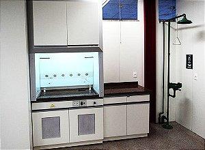 Capela Química com Granito para Laboratório - Mobiliário para Laboratório