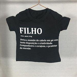 T-Shirt Filho Definição (Infantil)