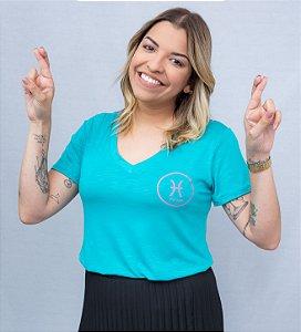 T-shirt signos peixes