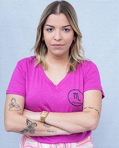 T-shirt signos escorpião