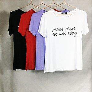 T-shirt Pessoas Felizes