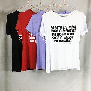 T-shirt Afasta de Mim