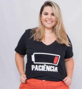 T-shirt Paciência