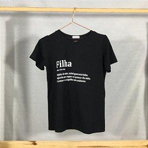 T-Shirt Filha Definição (Adulta)