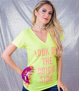 T-shirt Estampa Look