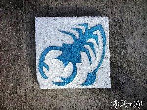 Signo de Escorpião - Quadro de Pintura em Alto Relevo