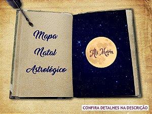 Mapa Natal Astrológico Áli Mo'o'n