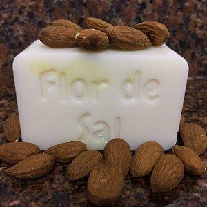 Sabonete Hidratante de Amêndoa - Vegano e Natural