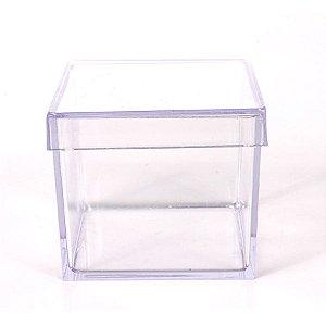 12 caixa de acrilico 5x5cm