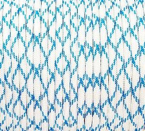 Paracord 550 Algodão Azul