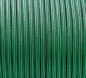Paracord 550 Striped Green