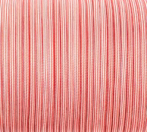 Paracord 550 Striped Red & White