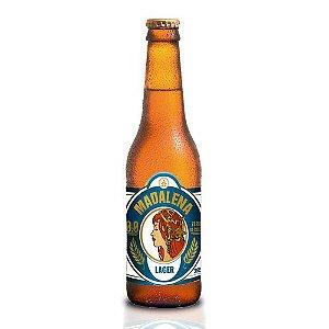 Cerveja Madalena Lager Zero Álcool - 355 ml