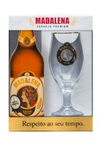 Kit Madalena com taça