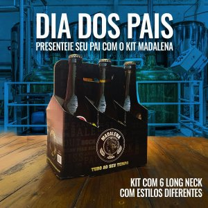 KIT DIA DOS PAIS - 6 LONG NECKS