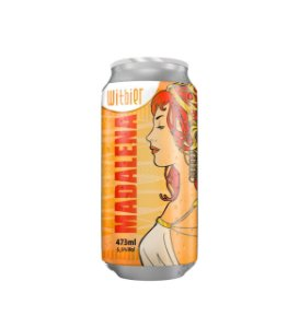 LATA MADALENA WITBIER 473ML