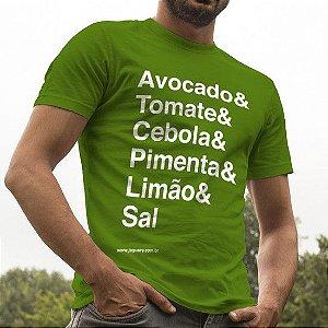 Camiseta guacamole Jaguacy