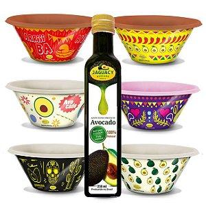 Kit Bowls + Azeite de Avocado Jaguacy 2017