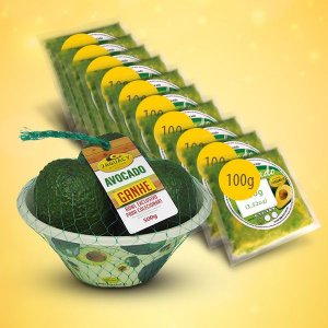 Kit Avocado com polpa