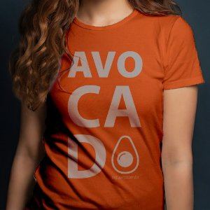 Camiseta Avocado baby look Feminina