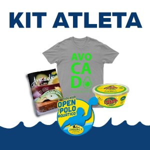 Kit ATLETA 3º Avocado Open de Polo Aquático