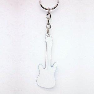 Chaveiro Guitarra Sublimação 5 unidades