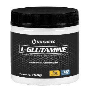 Glutamina L Glutamine - 150g - Nutratec