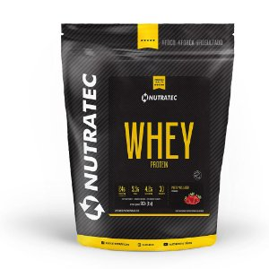 100% Whey Protein - 900g Refil - Nutratec