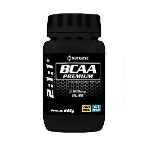 BCAA 3800mg - 240 Cápsulas - Nutratec