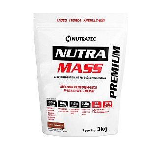 Massa Nutramass Premium - 3 Kg - Nutratec