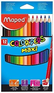 Lápis de Cor Color Peps Maxi - 12 cores