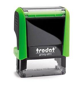 Carimbo Automático Trodat Printy 4911 4.0 Cor: Verde