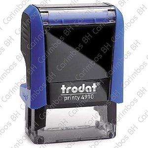 Carimbo Automático Trodat Printy 4910 4.0 Cor: Azul