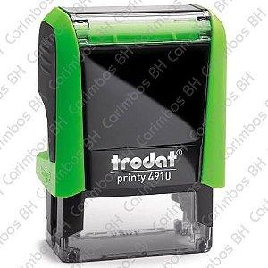 Carimbo Automático Trodat Printy 4910 4.0 Cor: Verde