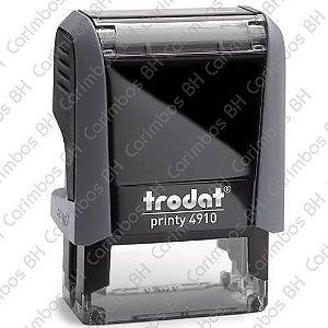 Carimbo Automático Trodat Printy 4910 4.0 Cor: Cinza