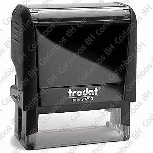Carimbo Automático Trodat Printy 4913 4.0