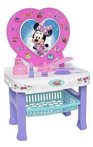 Penteadeira Minnie Disney com Acessórios - 6 Peças - Mielle Brinquedos