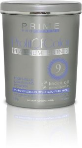 Pó Descolorante Profit of Color Platinum Blond Prime Pro Extreme 9 tons 500g